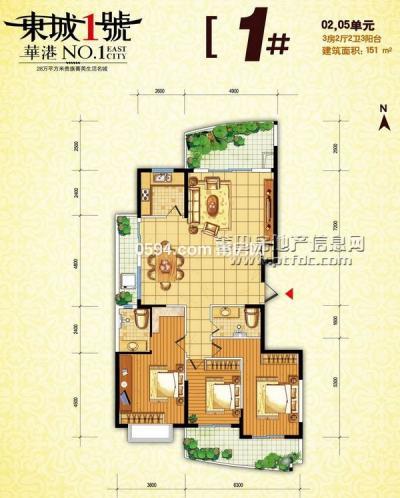 东城一号三期高层出租  高端小区高层   前后百米无挡  -莆田租房