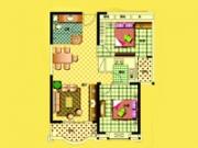 3号楼87㎡两房两厅一卫