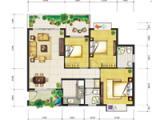 1号楼109㎡三房两厅两卫