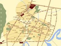 云顶枫丹项目区位图