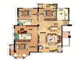 12#36#96#楼约135㎡4房2厅2卫1厨双阳台