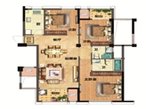 12#36#96#楼约109㎡3房2厅2卫1厨双阳台