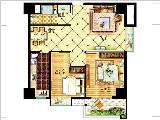 6#楼92㎡两房两厅