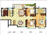 7#楼133㎡三房两厅