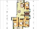 9#楼183㎡四房两厅