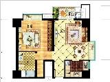 6#楼74㎡单身公寓