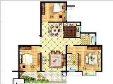 7#楼117㎡三房两厅