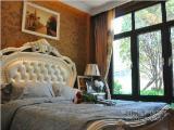 西式别墅样板房--卧室