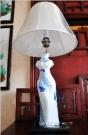 中式别墅样板房--台灯