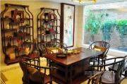 中式别墅样板房--会客室
