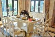 西式别墅样板房--餐桌