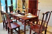 中式别墅样板房--餐桌
