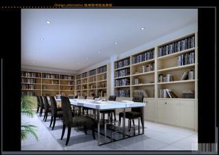 陈琳图书馆效果图图片