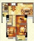 1#楼115㎡三房两厅