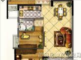 1#、2#B户型94㎡三房两厅一卫