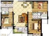 5#6#楼108㎡三房两厅