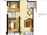 4#G户型89㎡两房两厅