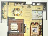 1#楼95㎡两房两厅