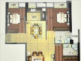 1#楼118㎡三房两厅