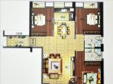 1#楼128㎡三房两厅