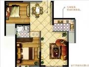 3#D户型87㎡两房两厅