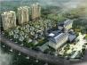 城建温泉花园鸟瞰图