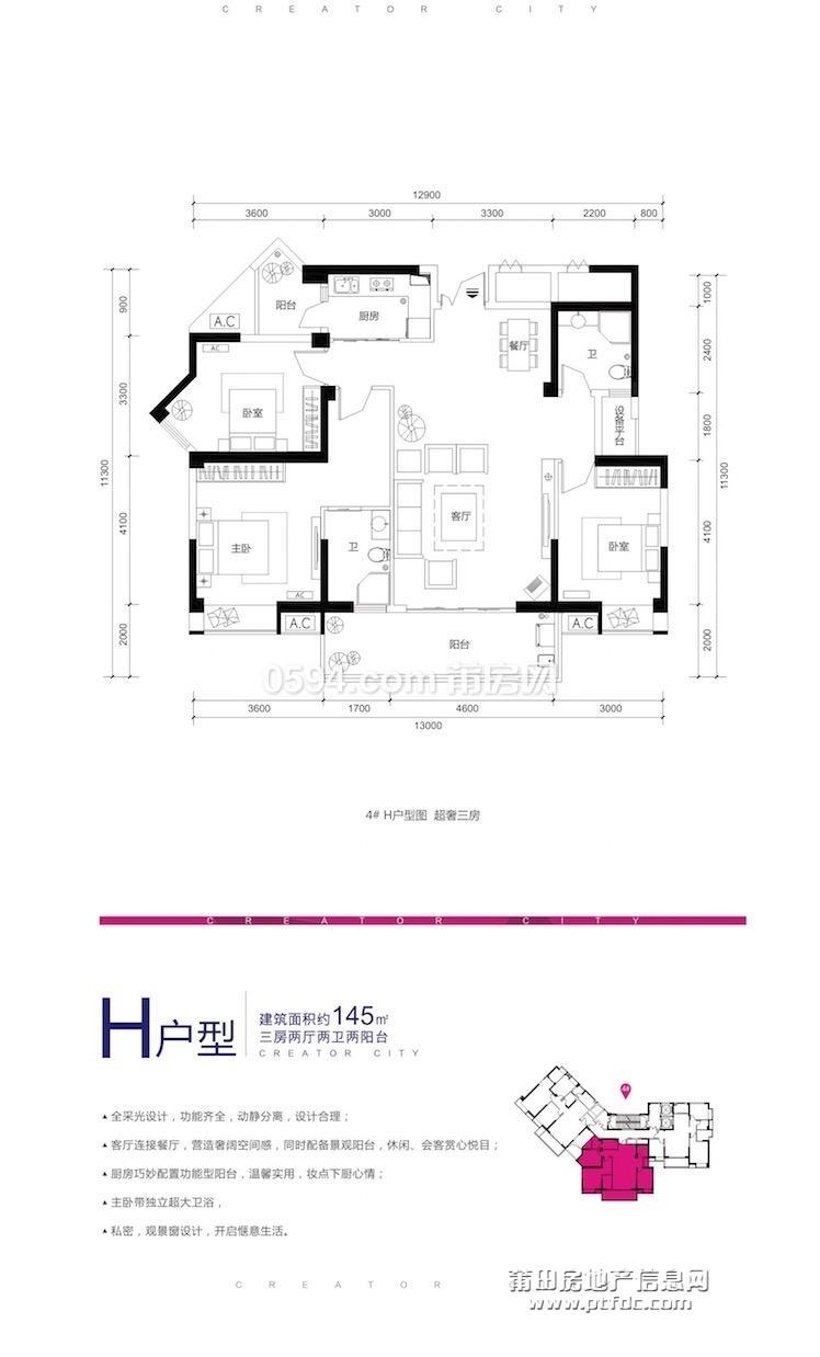 4# H户型