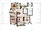 A-1上层149.92㎡三房三厅两卫一阳台