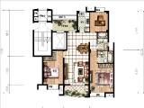 B113.9㎡三房两厅两卫一阳台