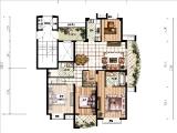 C-1上层185.12㎡四房三厅两卫两阳台