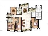 F170.63㎡四房三厅两卫两阳台