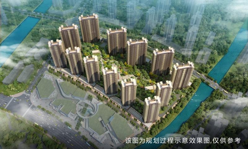 莆田万科城 - 玉湖新城七期鸟瞰图