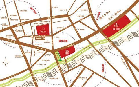 锦福家园区位图