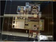 143平米沙盘图