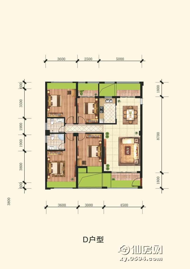 D1户型图