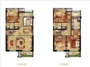 三期135㎡复式3房2厅3卫