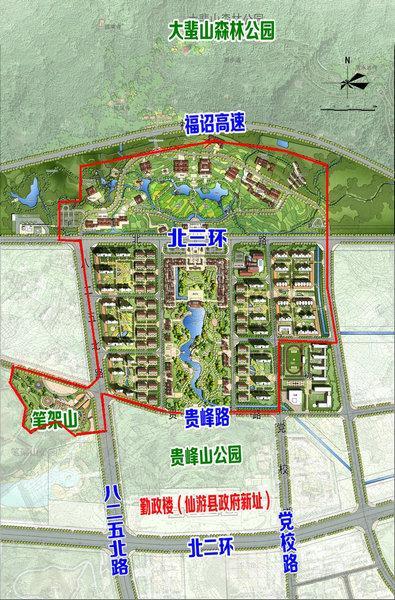 """规划结构   本次规划协同主要城市空间形成"""""""