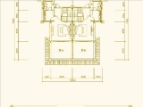 别墅203㎡四房三房三卫 第三层