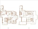 二期2#楼01单元顶层373㎡五房
