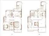 二期2#楼02单元顶层285㎡四房