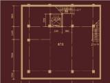 别墅地下室平面图
