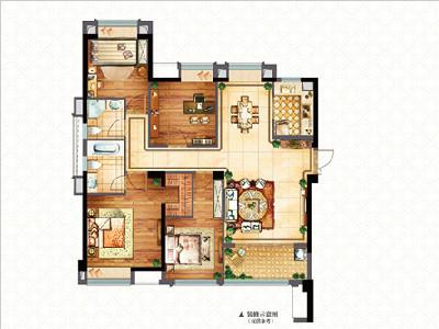 1#9#楼138㎡四房两厅两卫