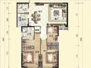 L户型126-132㎡三房