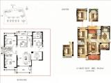 1#楼124㎡3+1房2厅