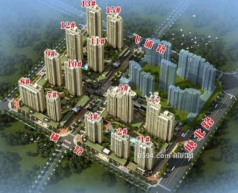利通塘北壹号一期顶层 南北东 买一层送一层半 5房2厅4卫-