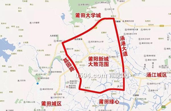 未来三十年莆田城市格局已定,这个地方才是王炸