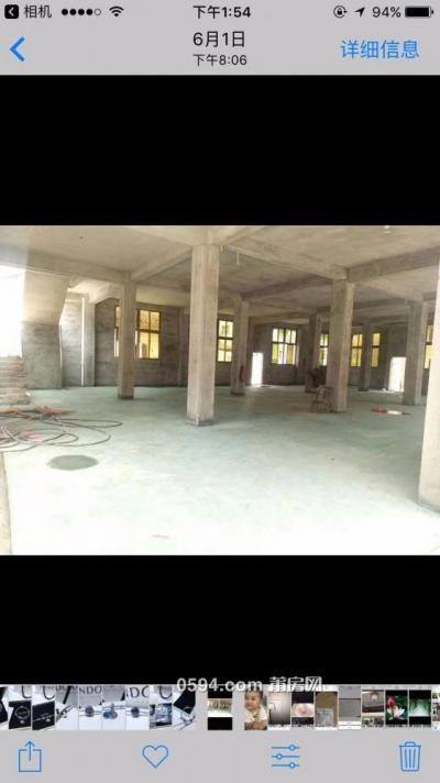 木兰溪清前安置房近1层450平方车直通一层与荔港大道300米-莆田租房