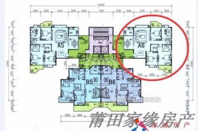 名邦豪苑 高層南北東 三面采光 戶型一級棒-莆田二手房