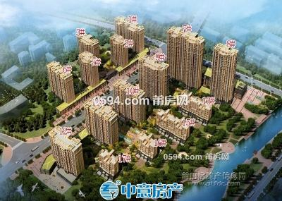 溪白延寿片区 巨岸幸福城 高层简装三房 -莆田二手房