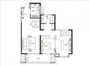 平层1#2#3#108㎡两房两厅一卫一阳台